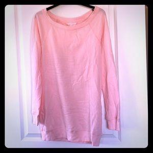 Tunic length light sweatshirt: Victoria's Secret